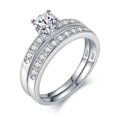 Lucky Love Engagement Wedding Ring