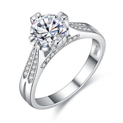 Dazzling Love Engagement Wedding Ring
