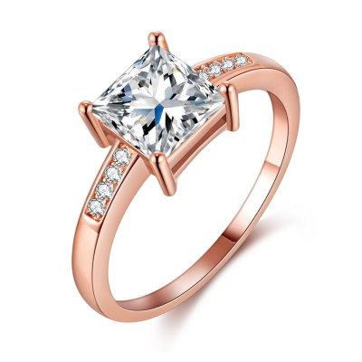 Close To You S925 Silver Engagement Wedding Ring