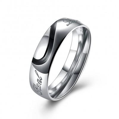 Men's Love Couple Couples Ring