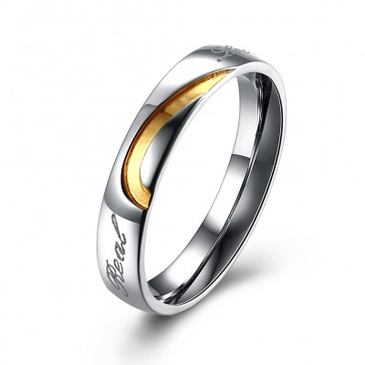 Sweet Heart Couples Ring