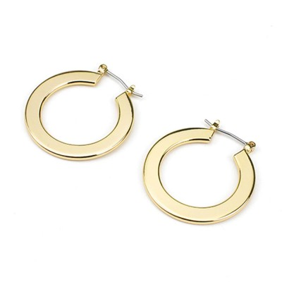 Flat Smooth Earrings