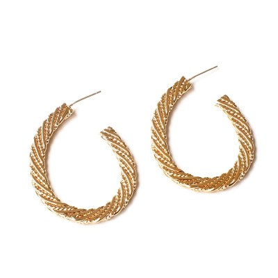 Flat Threaded Earrings