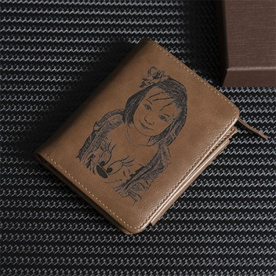 Personalized Fashion Multi-Function Photo Handbag