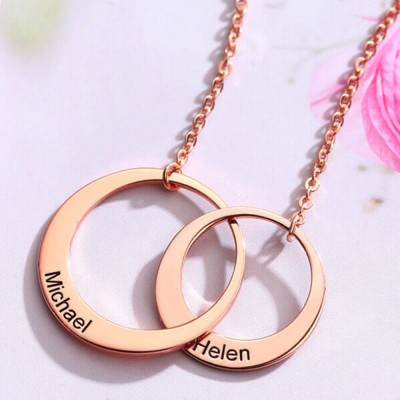 Personalized Token of Love Name Necklace Valentine's Days Gifts