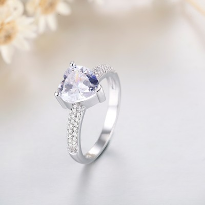 Love You Engagement Wedding Ring